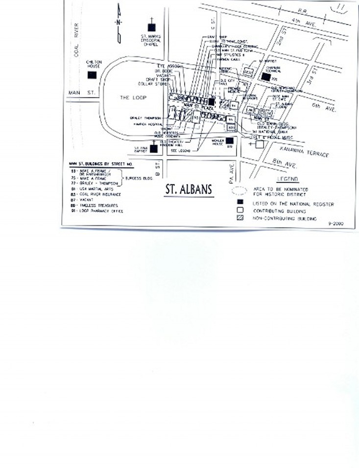 Main St Map
