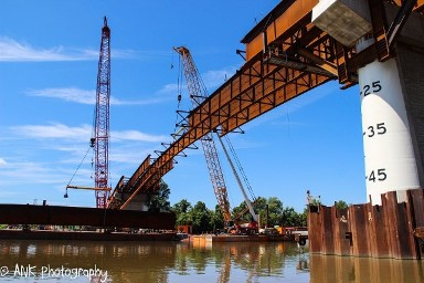 St. Albans Bridge Construction
